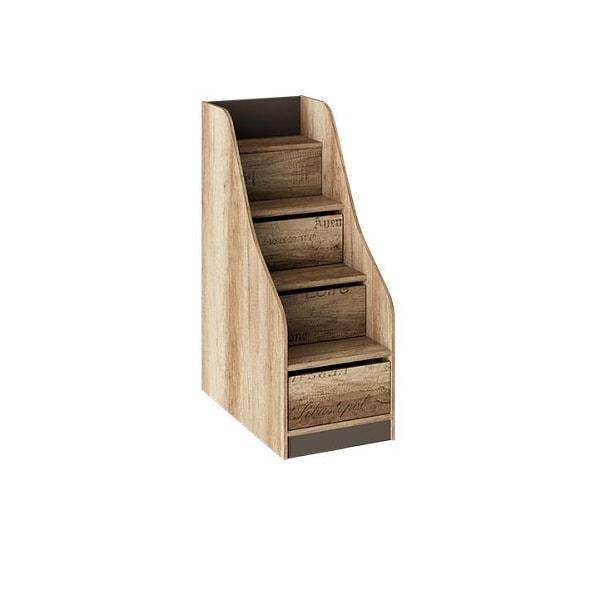 Лестница приставная «Пилигрим» (с ящиками)