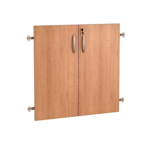 Двери ДСП (на 2 секции с замком) «Альфа»