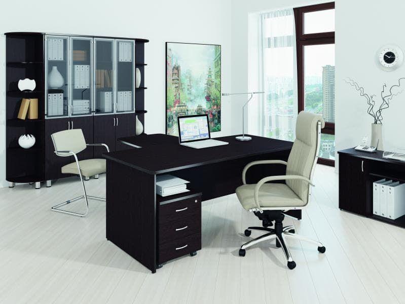 Набор мебели для руководителей (Кабинет)(8 предметов) «Лидер-Престиж»